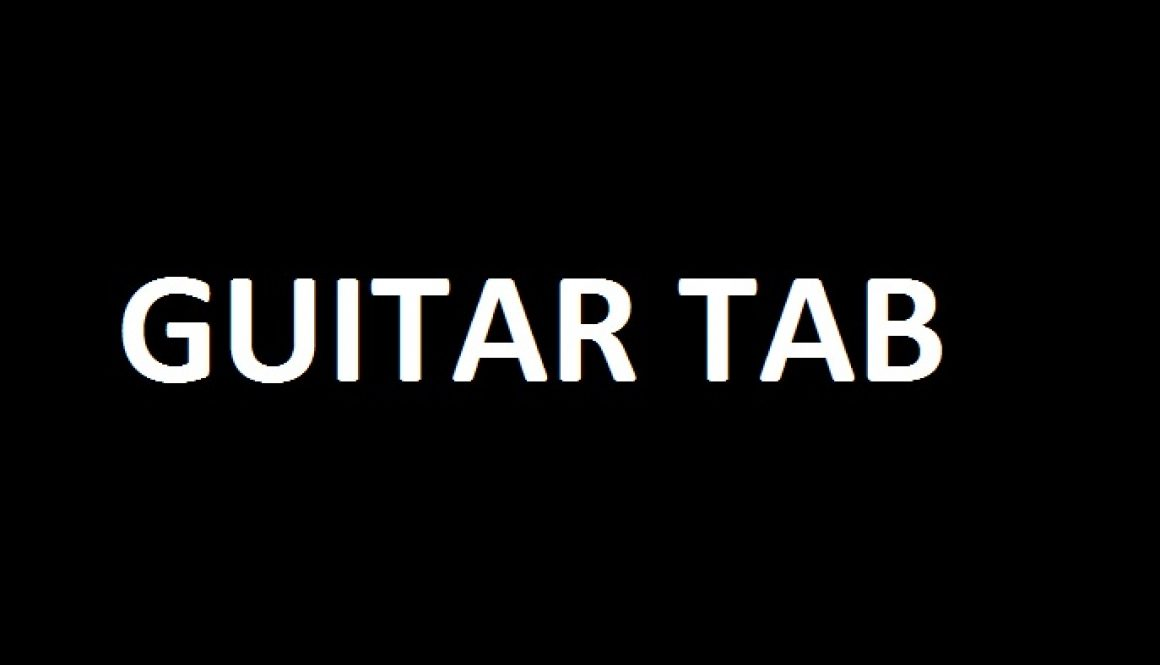 Tabs U2 Summer Of Love Intro Guitar Tab