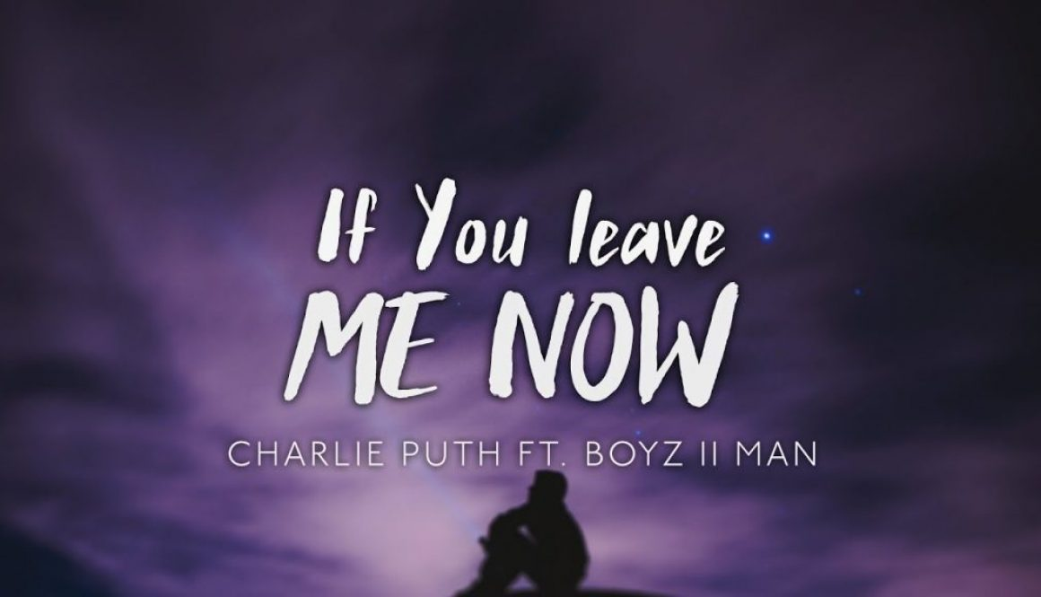 Chords Charlie Puth If You Leave Me Now Chord Progression On