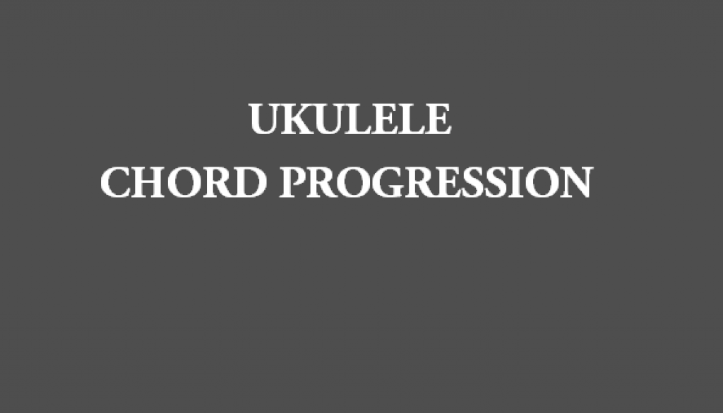 Ukulele James Bay Us Ukulele Chord Progression Tab