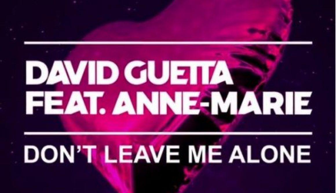 Guitar David Guetta Ft Anne Marie Dont Leave Me Alone Guitar