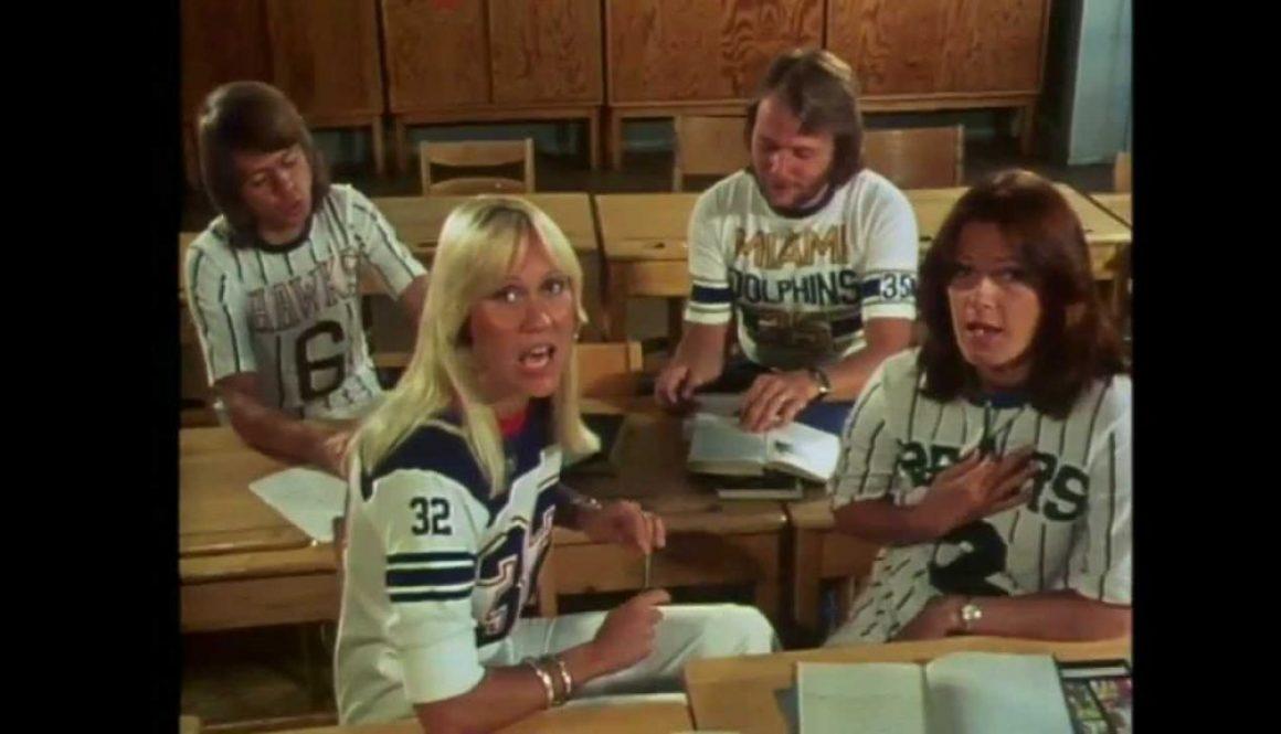 CHORDS: ABBA – When I Kissed The Teacher Piano & Guitar Chord Progression & Tab