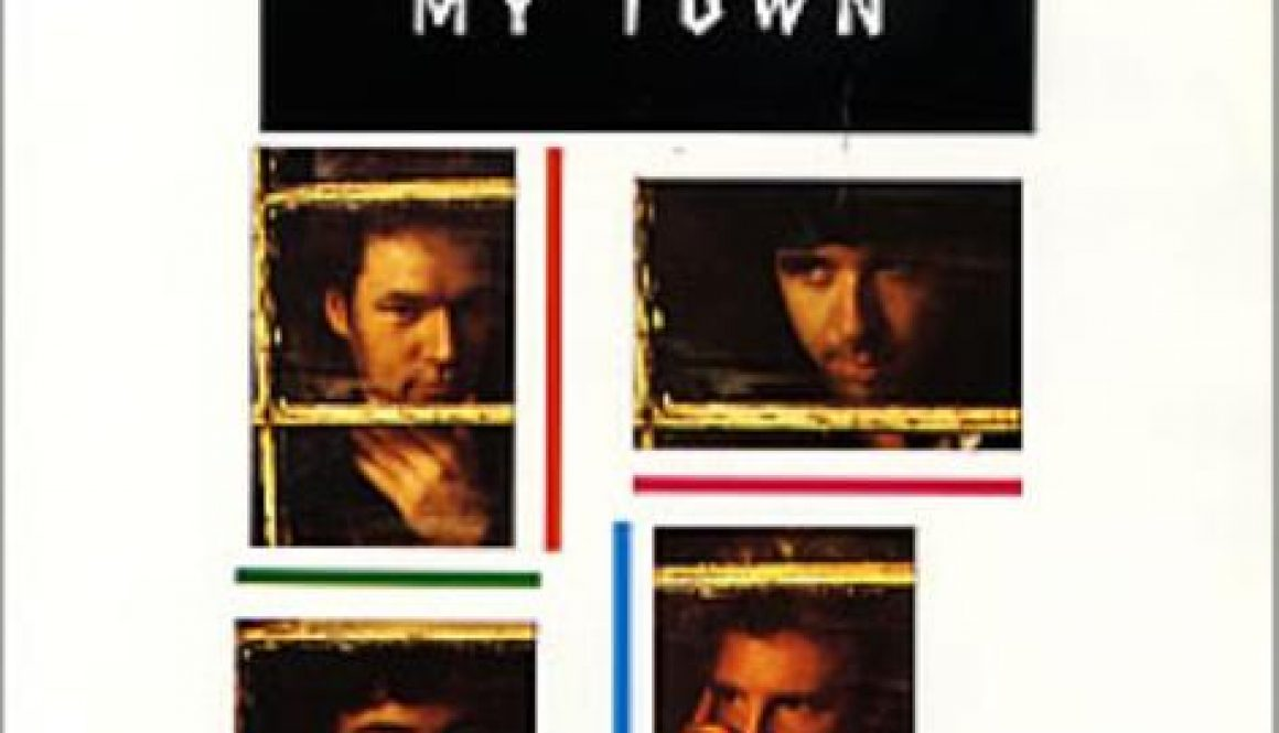 CHORDS: Glass Tiger – My Town Piano & Ukulele Chord Progression and Tab